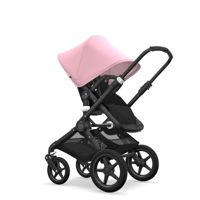 Wózek 2 w1 Bugaboo Fox  Black- Soft Pink Core Canvas