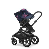Wózek 2w1 Bugaboo Fox Black Black/Birds