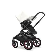 Wózek 2w1 Bugaboo Fox Black - Black/Fresh White