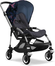 Wózek spacerowy Bugaboo Bee5 ALU+/STEEL BLUE z budką BIRDS
