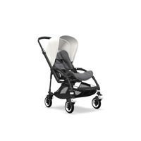 Wózek spacerowy Bugaboo Bee5 BLACK+/GREY MELANGE z budką FRESH WHITE