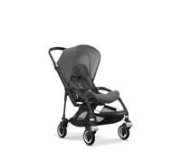 Wózek spacerowy Bugaboo Bee5 BLACK+/GREY MELANGE z budką GREY MELANGE