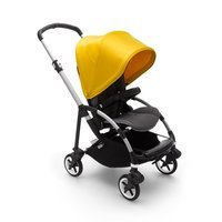 Wózek spacerowy Bugaboo Bee6  baza ALU/GREY z budką LEMON YELLOW