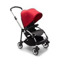 Wózek spacerowy Bugaboo Bee6  baza ALU/GREY z budką RED