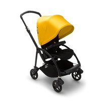 Wózek spacerowy Bugaboo Bee6  baza BLACK/BLACK z budką LEMON YELLOW