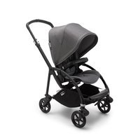 Wózek spacerowy Bugaboo Bee6  baza BLACK/GRAY z budką GREY MELANGE