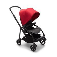 Wózek spacerowy Bugaboo Bee6  baza BLACK/GRAY z budką RED