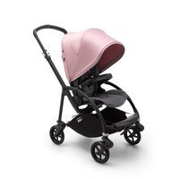 Wózek spacerowy Bugaboo Bee6  baza BLACK/GRAY z budką SOFT PINK