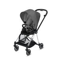Wózek spacerowy Cybex Mios 2.0 na stelażu Chrome Black, Manhattan Grey Plus