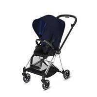 Wózek spacerowy Cybex Mios 2.0 na stelażu Chrome Black, Midnight Blue Plus