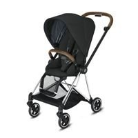 Wózek spacerowy Cybex Mios 2.0 na stelażu Chrome Brown, Deep Black