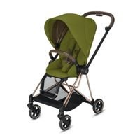 Wózek spacerowy Cybex Mios 2.0 na stelażu Chrome Brown, Khaki Green