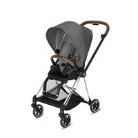 Wózek spacerowy Cybex Mios 2.0 na stelażu Chrome Brown, Manhattan Grey Plus