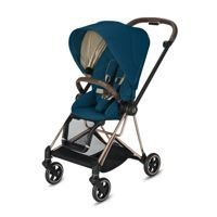 Wózek spacerowy Cybex Mios 2.0 na stelażu Chrome Brown, Mountain Blue