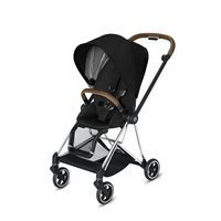 Wózek spacerowy Cybex Mios 2.0 na stelażu Chrome Brown, Stardust Black Plus
