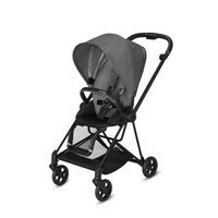 Wózek spacerowy Cybex Mios 2.0 na stelażu Matt Black, Manhattan Grey Plus