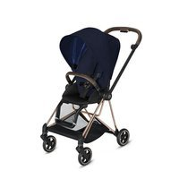 Wózek spacerowy Cybex Mios 2.0 na stelażu Rose Gold, Midnight Blue Plus