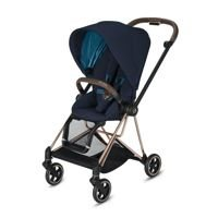 Wózek spacerowy Cybex Mios 2.0 na stelażu Rose Gold, Nautical Blue