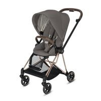 Wózek spacerowy Cybex Mios 2.0 na stelażu Rose Gold, Soho Grey