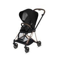 Wózek spacerowy Cybex Mios 2.0 na stelażu Rose Gold, Stardust Black Plus