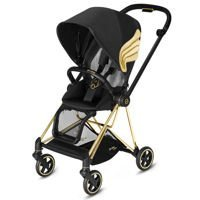 Wózek spacerowy Cybex Mios Wings by Jeremy Scott Lux na stelażu Gold