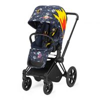 Wózek spacerowy Cybex Priam by Anna K. na stelażu Chrome Black z siedziskiem LUX