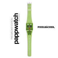 Zegarek I like paper, Pappwatch DRAGON by PIXELBÄCKER