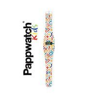 Zegarek I like paper, Pappwatch GEOMETRICAL STRIPES III Kids