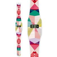 Zegarek I like paper, Pappwatch GEOMETRICAL3 by NURIA MORA