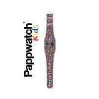 Zegarek I like paper, Pappwatch LEOPARD ROUGE By AXELLE DESIGN Kids