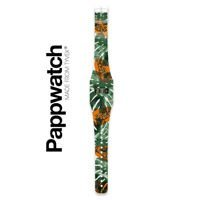 Zegarek I like paper, Pappwatch PAPAYA JUNGLE By BÂNUM