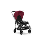 Wózek spacerowy Bugaboo Bee5 ALU+/BLACK z budką RUBY RED