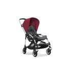 Wózek spacerowy Bugaboo Bee5 ALU+/GREY MELANGE z budką RUBY RED