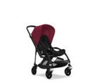 Wózek spacerowy Bugaboo Bee5 BLACK+/BLACK z budką RUBY RED