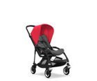 Wózek spacerowy Bugaboo Bee5 BLACK+/GREY MELANGE z budką NEON RED