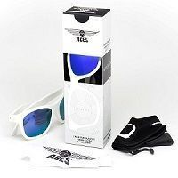 Okulary Navigator Aces Babiators Wicked White - Purple Lenses 7-14