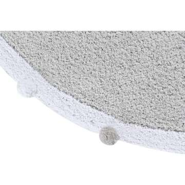 Dywan Lorena Canals, Bubbly Light Grey Ø 120cm