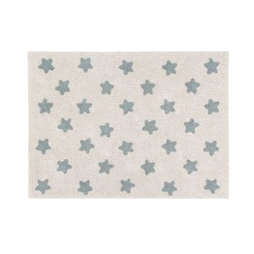 Dywan Lorena Canals, Stars Natural - Vintage Blue 120x160cm