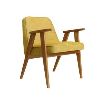 Fotel 366 Concept, wersja Junior, LOFT Collection, Mustard Oak 03