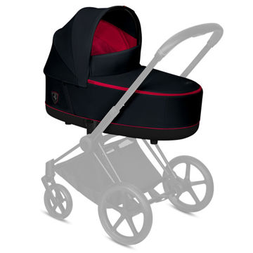 Gondola Lux do wózka Cybex Priam 2.0, for Scuderia Ferrari, Victory Black