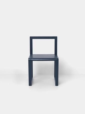 Krzesło Ferm Living Little Architect Dark Blue