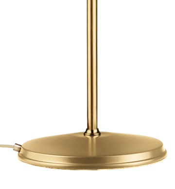 Lampa podłogowa Gubi, model Bestlite BL3M, kolor All Brass