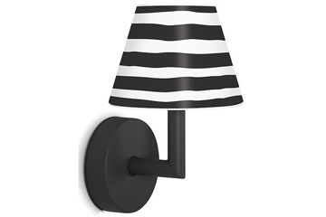 Lampa ścienna Fatboy Add the Wally, Anthracite