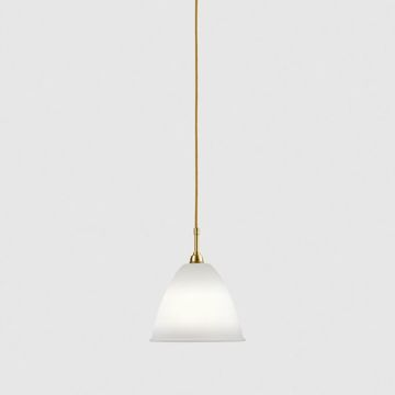 Lampa sufitowa Gubi Bestlite, BL9 M, Bone China Shade/Brass