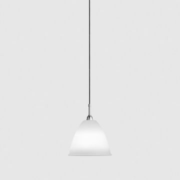 Lampa sufitowa Gubi Bestlite, BL9 M, Bone China Shade/Chrome