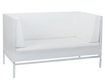 Łóżko Quax XL 3w1 Stretto 140x70cm White/chrome