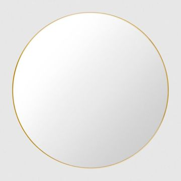 Lustro Gubi, Round Polished Brass