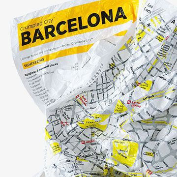 Mapa Palomar Crumpled City TP Barcelona
