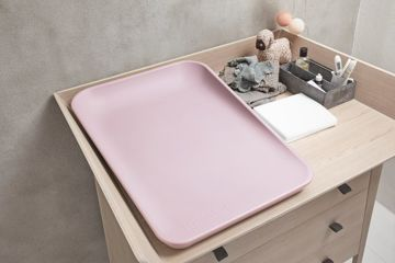 Mata do przewijania Leander Matty, Soft pink