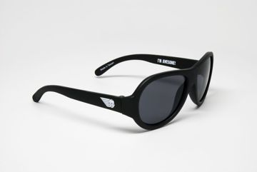 Okulary Aviator Babiators Black Ops Black 0 - 3